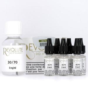 Pack DIY 30% PG / 70% VG 100ml Revolute